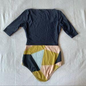Seea Swim - Seaa Zuma In geometric print. Size small.